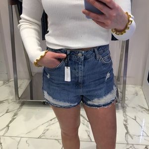 "TOPSHOP ""mom"" shorts"